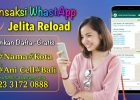 Cara Mudah Transaksi Whastapp Jelita Reload